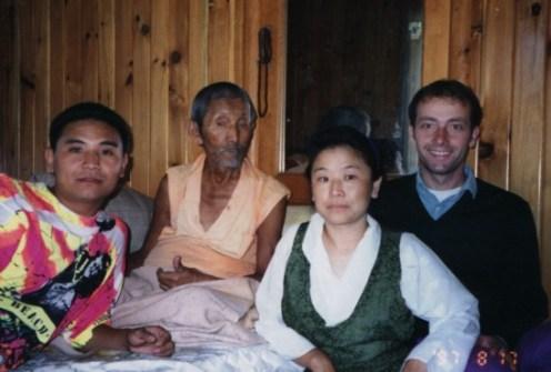 Gegen Rinpoche and Khandro-la Rinpoche